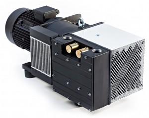 Dry rotary vane compressors
